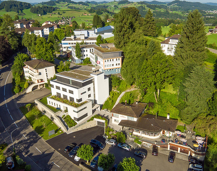 Paracelsus Klinik Lustmühle AG, Teufen | Gastgeber Schweiz